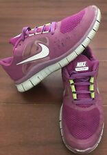 LADIE'S NIKE FREE RUN 3 SHOES, SIZE 8.5 US. GOOD CONDITION.