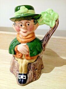 SYLVA CERAMICS MINI TOBY JUG Vintage Leprechaun Sylvac Mug Figurine Collectable