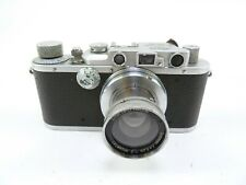 Leica III Camera Body with a Leica Summar 50MM F2 lens in Excellent Condition