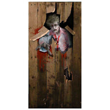 Forum Novelties Photo-Realistic Zombie Door Cover Halloween Decoration