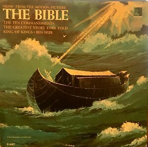 Music From The Motion Picture THE BIBLE MGM (US Press) LP E/SE4417