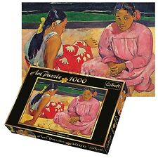 Trefl 1000 Piece Art Adult Tahiti Women On Beach Large Floor Jigsaw Puzzle NEW