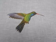Harlequin Fabric AMAZILIA 1.5 METRES (150cm) Flamingo/Papaya/Apple - 100% Linen