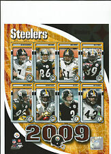 2009 PITTBURGH STEELERS 8X10 NFL PICTURE PHOTO
