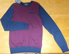 Marks and Spencer Long Sleeve Crew Neck Men's Casual Shirts & Tops