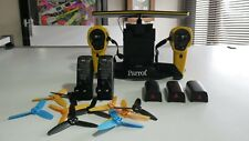 Parrot Bebop Yellow Skycontroller 1 including 3 batteries and 2 chargers