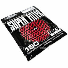 HKS Super Power Megaflow Air Filter Replacement Element 150mm Red Wet Genuine