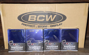 (1000) Case of BCW Gold Rookie Card Border Top Loaders 3 x 4 Toploaders