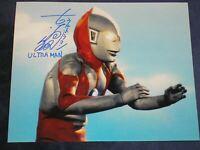 SATOSHI BIN FURUYA Signed ULTRAMAN 8x10 Photo Autograph Japanese BECKETT RARE F