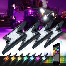 Xprite G2 Lightning led RGB Offroad Bluetooth Rocklights 4PC