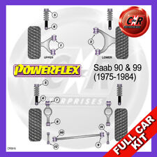 Saab 90 & 99 (1980-1987) Powerflex Complete Bush Kit