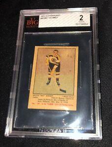 1951-52 Parkhurst #29 MILT SCHMIDT BVG 2 GOOD RC Rookie BOSTON BRUINS