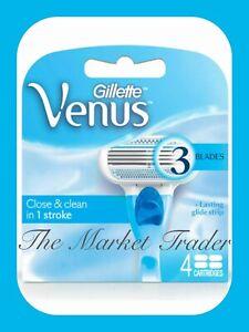Gillette Venus Enge & Sauber Glatt Damen Rasiermesser Klingen - Schnell