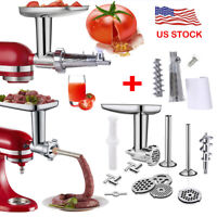 Food Meat Grinder Attachment For Kitchenaid Stand Mixer,Tomato Juicer Attachment