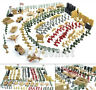 260 pcs Military Playset Plastic Toy Soldier Army Men 1:72 Figures & Accessories