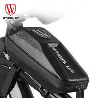Bicycle Cycling Bike Front Top Frame Bag MTB Waterproof Phone Holder Case #
