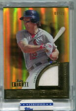 2012 TOPPS TRIBUTE TO THE STARS LANCE BERKMAN JERSEY RELIC /15 FACTORY SEALED