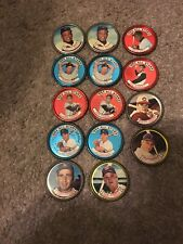 1960S Tops Baseball Coins