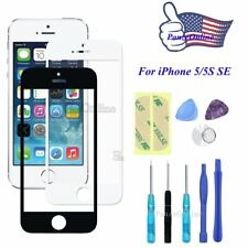 Front Outer Screen Glass Lens Replacement for iPhone 5/5S SE 6s 6Plus+Repair Kit