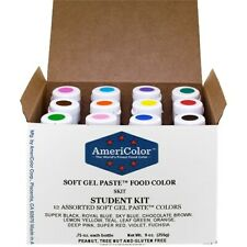 .75 Soft Gel Paste 12 Color Student Kit