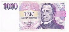 1000 KORUN CZECH REPUBLIC 1993