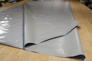 3,00€/m² Lkw Plane Abdeckplane PVC Holzplane B-Ware 900gr/m² grau 3,00m/3,55m