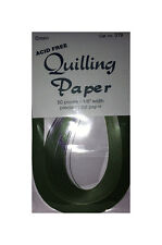 """Lake City Craft     Quilling Paper   1/8""""   Green  No. 319"""