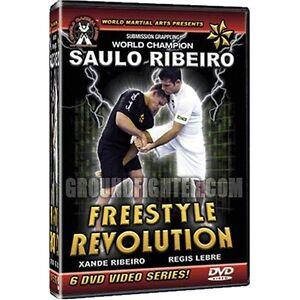 NEW! Saulo Ribeiro Freestyle Revolution DVD Set - BJJ MMA Martial Arts Jujitsu