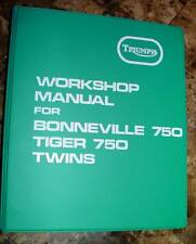 1976-78 Triumph Bonne, Tiger, T140V & T140E, OEM, SHOP BINDER, NEW Sealed
