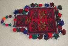 Afghan Kuchi Nomad Namakdan Salt Bag Sack Afghanistan Rug Kilim Persian Carpet
