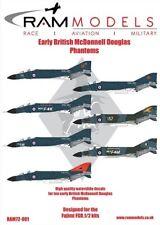 Ram Decals 1/72 Early British McDonnell-Douglas Phantoms # 72001