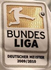 Origin.Bundesliga Badge Spieler-Patch Deutscher Meister Bayern Trikot 2010-2011