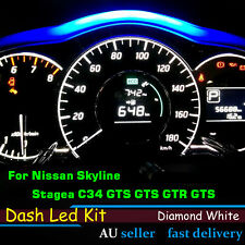 For Nissan Skyline R34 Stagea C34 GTS GTS GTR Dashboards LED Kit Indicator Bulbs