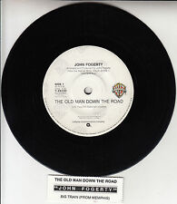 "JOHN FOGERTY  The Old Man Down The Road 7"" 45 rpm record + juke box title strip"