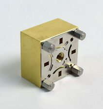 """""""Flat Blank""""  Holder for erowa  ITS system  -  new  -  Brass"""