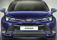 Toyota AVENSIS T27, T28 - RADIATOR GRILL CHROME 3M tuning sport grill