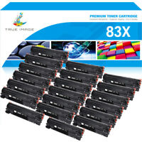 20PK Toner Compatible for HP 83X CF283X LaserJet Pro M201dw M201n MFP Printer