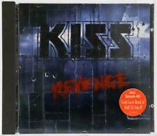 KISS CD - REVENGE - with KIZZ LOGO - GERMANY - C115801