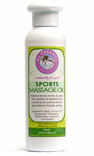 ALL ORGANICS ~Sports~ Massage Oil (50ml) Relieves Body Aches & Pains