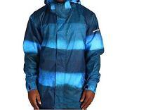 QUIKSILVER Men's LAST MISSION Print INS SNOW Jacket - BLU - XSmall - NWT