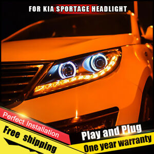 KIA SPORTAGE 2011-2015 H7 KIT CAR led dei fari lampadine Turbo COOL FAN BIANCO PURO