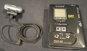 Sony PCM-M1 Portable Professional DAT recorder with case - Excellent Condition