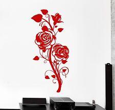 Wall Vinyl Decal Rose Flower Nature Beautiful Decor z3856