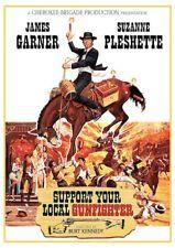 Support Your Local Gunfighter (DVD, 2015) James Garner NEW