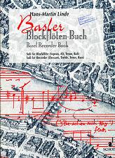 Hans Martin Linde -  Basler Blockflöten-Buch
