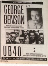 More details for ub40 'in ireland' 1986 uk mini press advert 8x6 inches