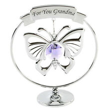 Grandma Butterfly With Swarovski Crystals Gift Ideas For Grandparents Her SP259
