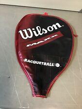 Wilson Maxx Racquetball Racquet Cover