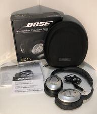 Bose QuietComfort 15 Headband Headphones - Silver
