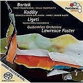 1st Rhapsodie/Hary Janos Suite/Romanian Rhapsody, Gulbenkian Orchestra, Audio CD
